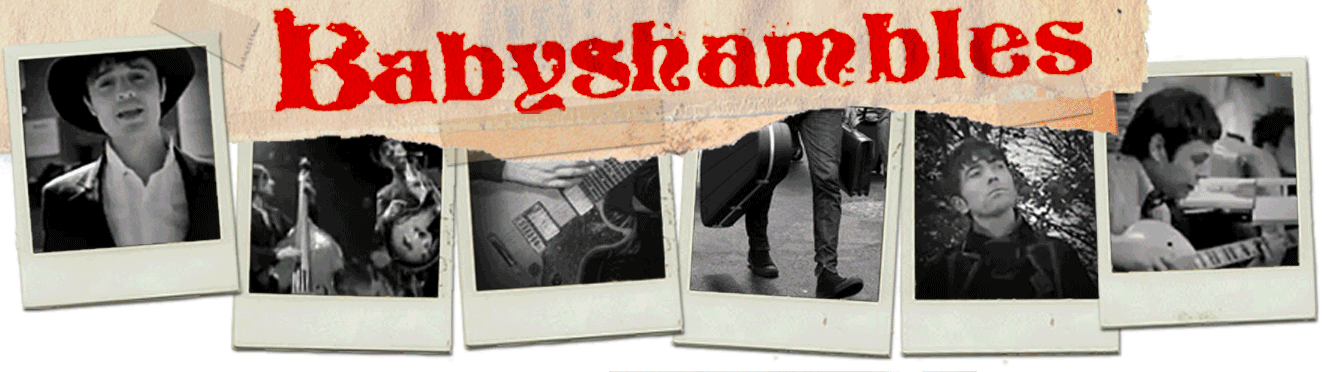 Babyshambles official website